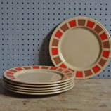 Staffordshire Potteries plates