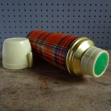 tartan flask