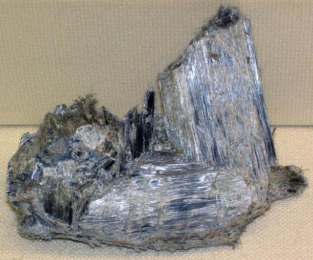 Blue asbestos
