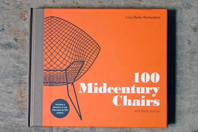 100 Midcentury Chairs book cover by Lucy Ryder Richardson