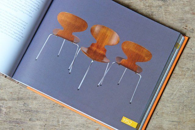 Ant Chair designed by Arne Jacobsen