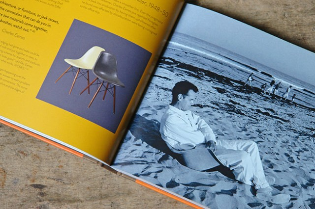Furniture and product designer, Charles Eames