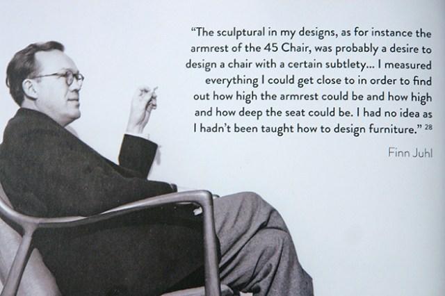 Danish furniture designer, Finn Juhl