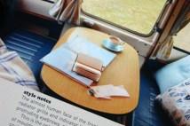 page in My Cool Campervan featuring the interior of Debbie, a 1968 Bedford CA Dormobile Debonaire campervan