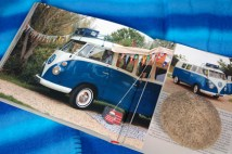page in My Cool Campervan featuring a 1965 VW Microbus campervan