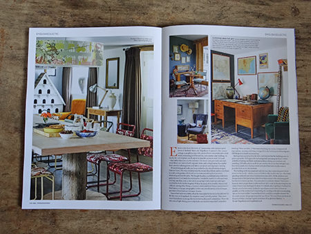 page from Homes and Antiques' 'Vintage Homes' book