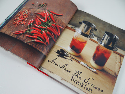 """breakfast chapter from """"My Vietnamese Kitchen"""" cookery book"""
