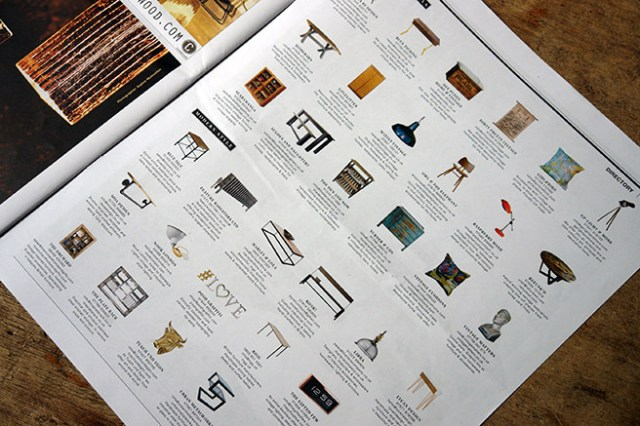 Directory in Warehouse Home magazine