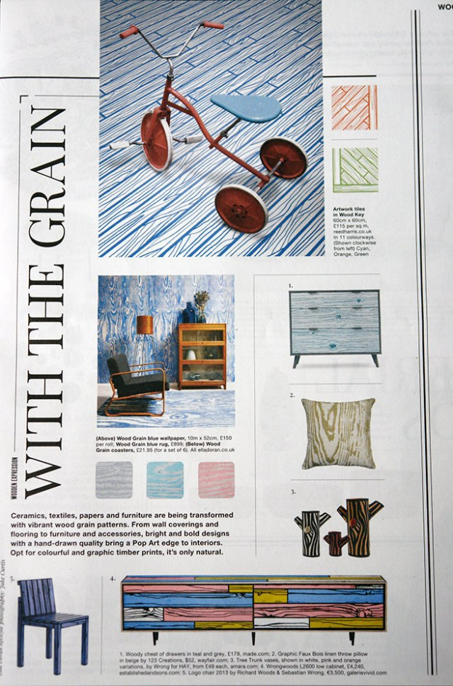 'With the Grain' article in Warehouse Home magazine