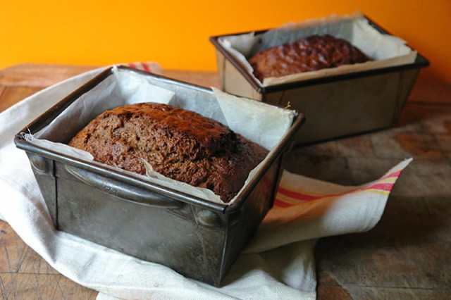 Date and walnut loaf tins | H is for Home