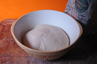 Risen panipopo dough | H is for Home