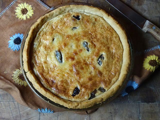 Prune and almond tart with Armagnac | H is for Home