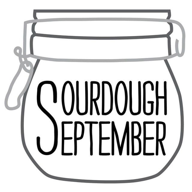 Sourdough September logo #SourdoughSeptember