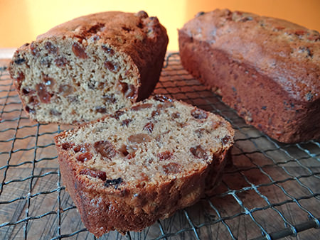 Baked Yorkshire tea loaf sliced | H is for Home