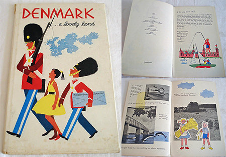 'Denmark... a lovely land' vintage children's book