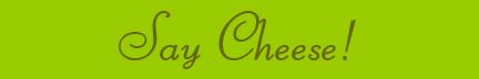 'Say Cheese!' blog post banner