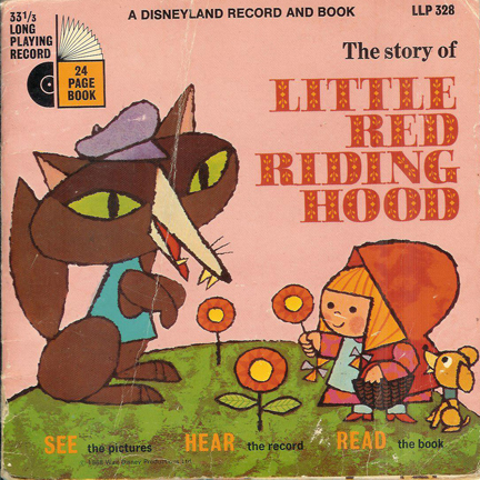 Vintage 'Red Riding Hood' book cover | H is for Home