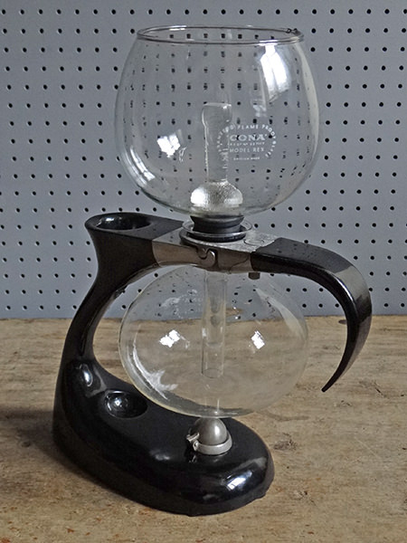 vintage Cona coffee maker   H is for Home