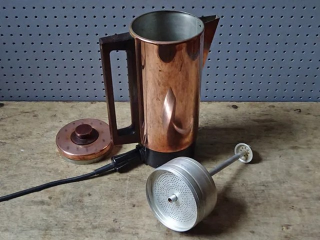 Vintage Swan 'Canterbury' electric coffee percolator components | H is for Home