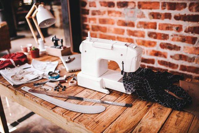 Sewing workspace