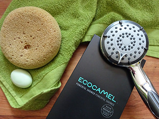 Ecocamel Jetstorm Plus shower head | H is for Home