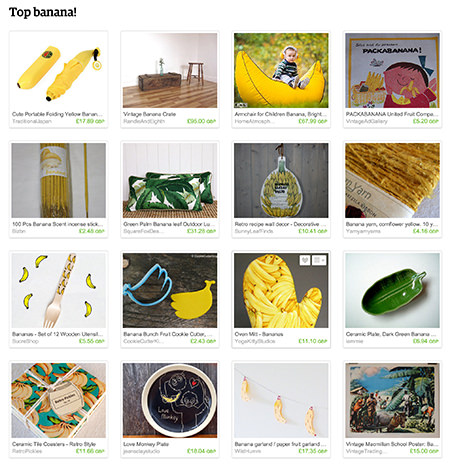 'Top Banana' Etsy List curated by H is for Home