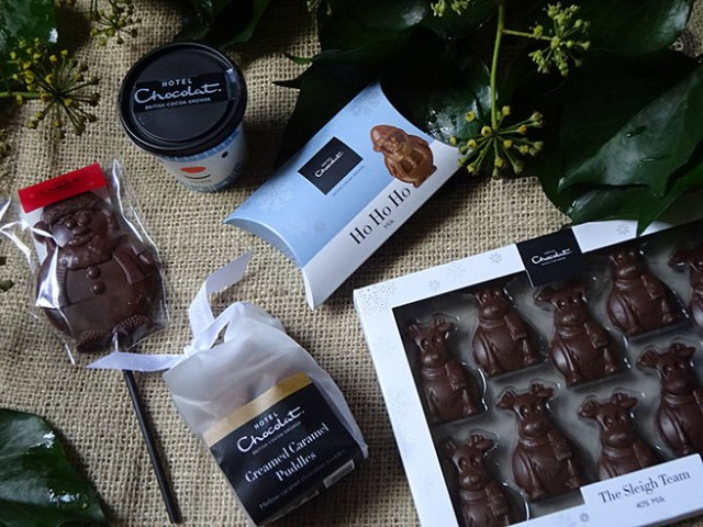 Children's chocolate from Hotel Chocolat | H is for Home