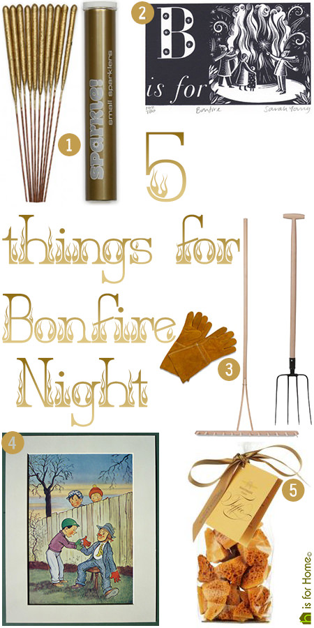 Five things for Bonfire Night | H is for Home