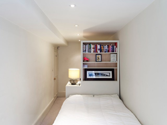Cleared spare bedroom