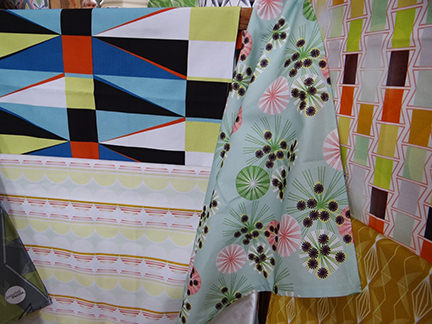 Annabel Perrin's patterned fabric