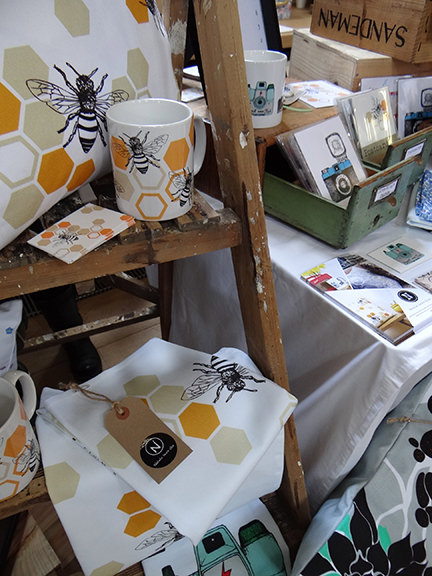 Natalie Laura Ellen's bee illustrated wares