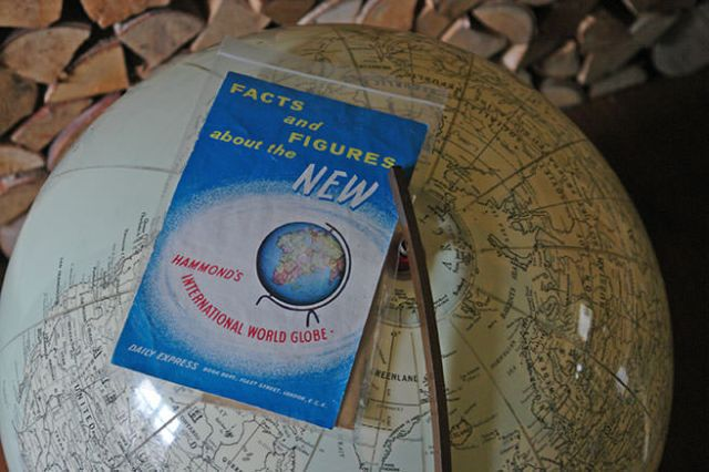 Vintage Hammond's International World Globe booklet | H is for Home