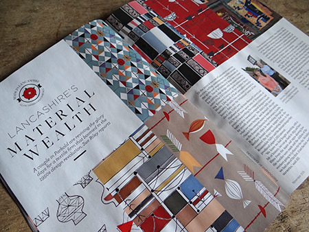 'Lancashire's Material Wealth' article in Lancashire Life
