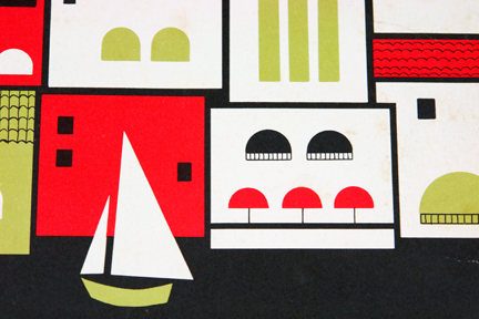 detail from 1960s/70s trattoria menu