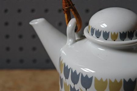 Vintage Rorstrand 'Party' teapot