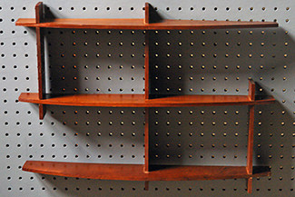 Vintage teak shelves | H is for Home