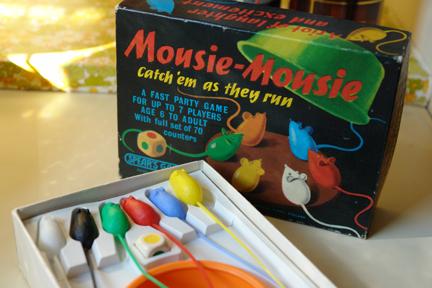 vintage Mousie Mousie party game