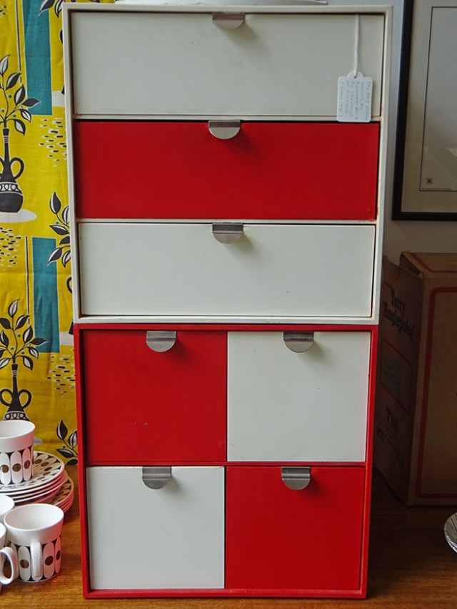 Vintage Papaset Treston storage boxes | H is for Home
