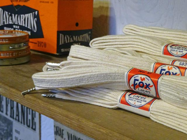 New old stock - vintage Fox laces | H is for Home
