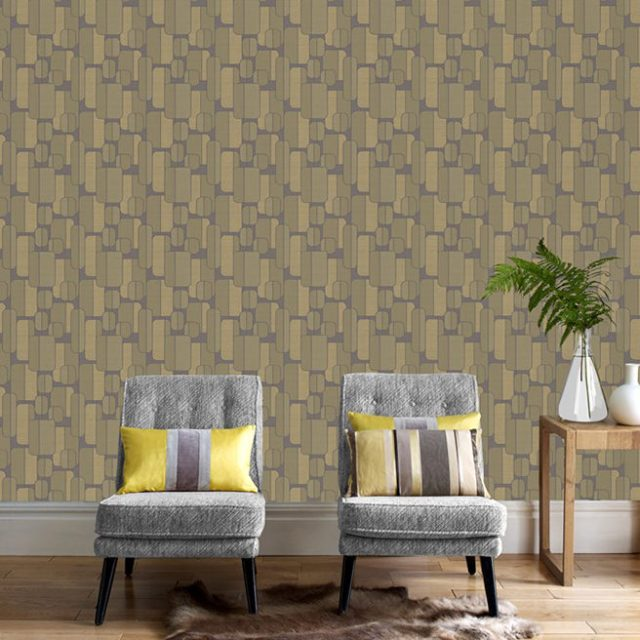 Removable 'Ponder' wallpaper from Graham & Brown