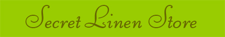 'Secret Linen Store' blog post banner