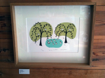 original framed print by Ruth Green available at Snug Gallery in Hebden Bridge