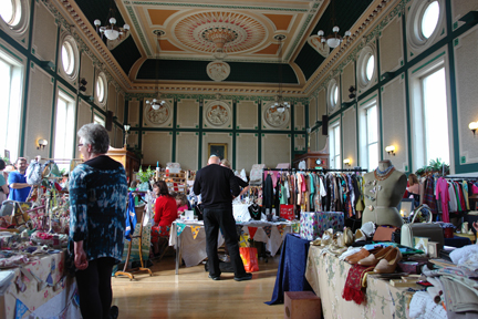 vintage fair at Todmorden Town Hall