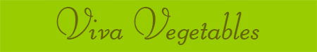 'Viva Vegetables' blog post banner