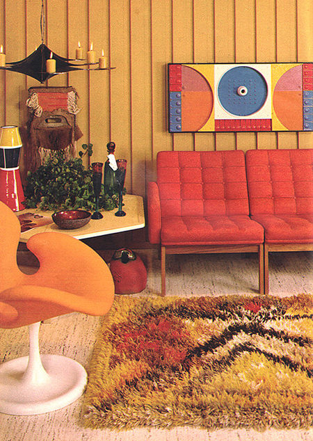 original 1960s sitting room