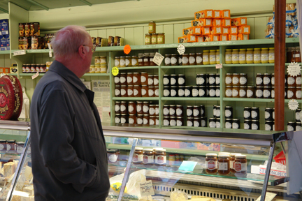 Jams for sale on Todmorden Indoor Market | H is for Home