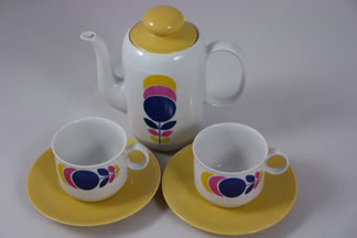 vintage German coffee set