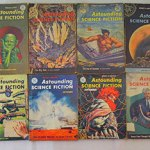 Charity Vintage: Astounding Science Fiction magazines
