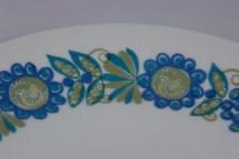 vintage Figgjo Turi plate detail