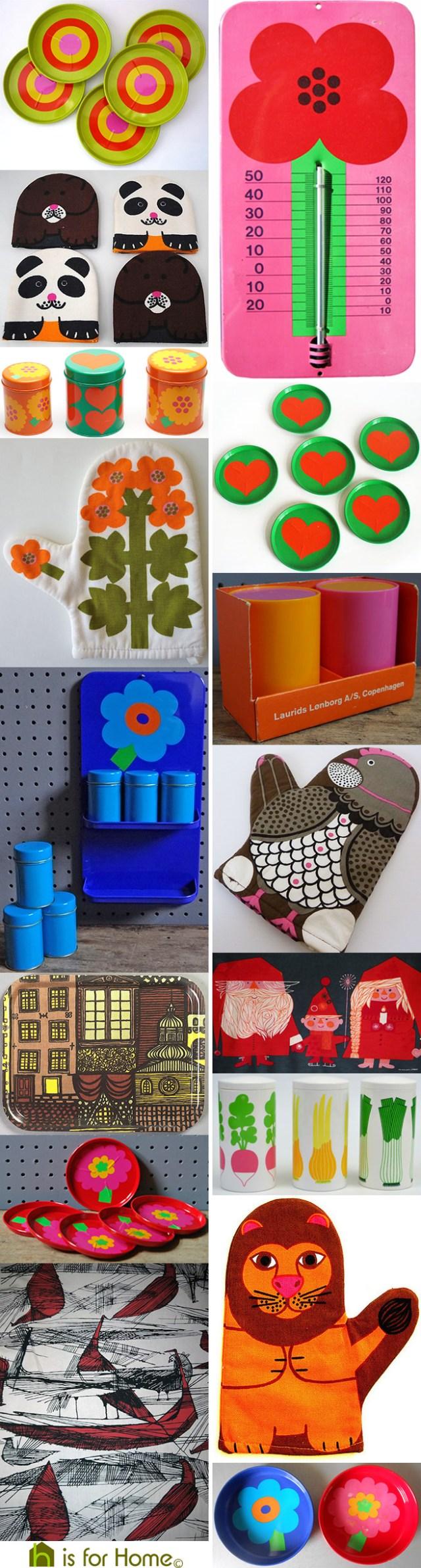 Mosaic of Al & Lena Eklund designs | H is for Home